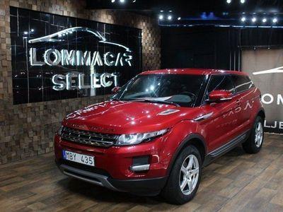 begagnad Land Rover Range Rover evoque 2.2 TD4 150HK 4WHD EN ÄGARE
