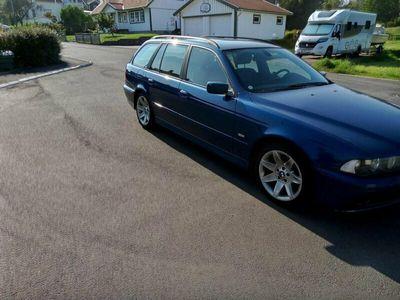 begagnad BMW 525 Drag sport stolar