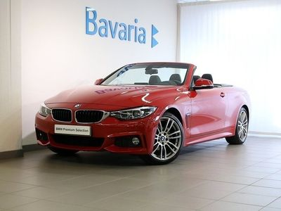 used BMW 420 i Convertible Cabrio M-Sport Connected Parking Cabriolet Nav Nypris 593