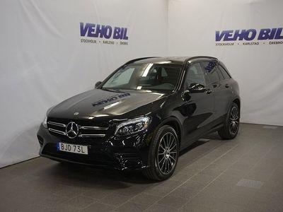 begagnad Mercedes GLC220 d 4M 2204-Matic AMG-Night Backkamera Värmare Aut Drag ILS
