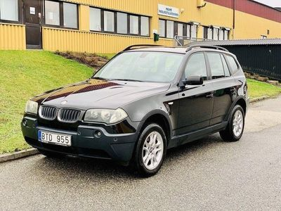 begagnad BMW X3 2.0D/150HK/PANORAMATAK/DRAG
