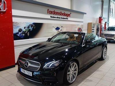 begagnad Mercedes E300 Cabriolet Svensksåld -18