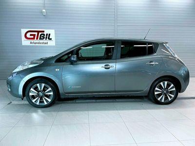 begagnad Nissan Leaf 30 kWh Tekna 109hk *Bose, GPS, 360kam, Skinn