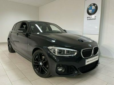 begagnad BMW 118 i M-Sport/ Aut/ Harman Kardon/ Helläder