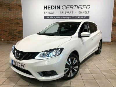 begagnad Nissan Pulsar DIG-T 115 N-CONNECTA 6M T SAFETY LED 2017, Kombi Pris 119 900 kr