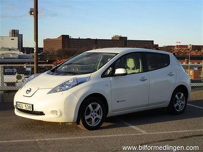 begagnad Nissan Leaf Navi Keyless Go Svensksåld Leasbar
