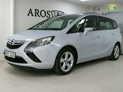 begagnad Opel Zafira Tourer 1,6 CDTi 136Hk 7-sits /motorvärmare/drag