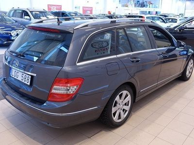 begagnad Mercedes C180 CGI BlueEfficiency Avantg -11