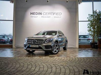 begagnad Mercedes GLA200 d // AMG & DRAGKROK //