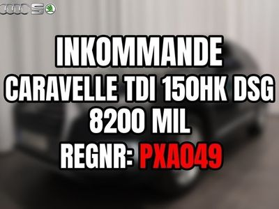 begagnad VW Caravelle TDI 150hk DSG