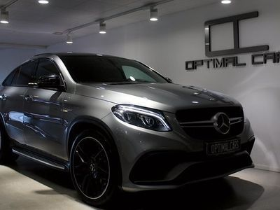 begagnad Mercedes S63 AMG GLE BenzCoupé AMG Exclusive 2016, SUV 789 900 kr