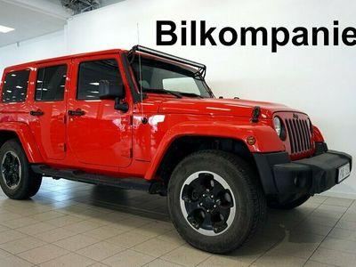 begagnad Jeep Wrangler Unlimited 2,8 Disel 200hk 4x4