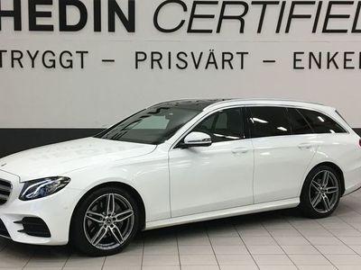 begagnad Mercedes E200 AMG / PANORAMA / VÄRMARE / FRI SERVICE