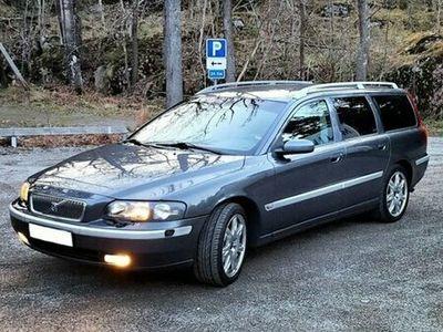 begagnad Volvo V70 2,5t, sport edition.