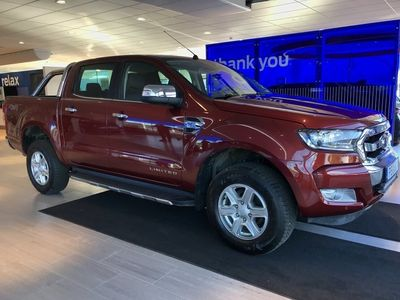 begagnad Ford Ranger Dubbelhytt Limited 3.2TDCi (200hp) -Aut