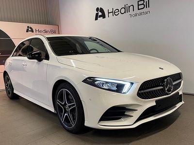 begagnad Mercedes A200 AMG LINE/WIDESCREEN/NIGHTPACKAGE/LAGERBIL/