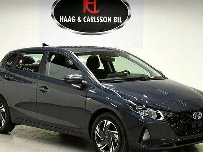 begagnad Hyundai i20 1.0 T-Gdi 7DCT MHEV Essential 2021, Halvkombi Pris 195 800 kr