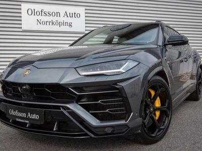 begagnad Lamborghini Urus Exclusive B&O Värmare Drag