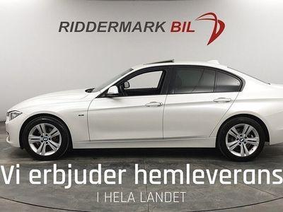 begagnad BMW 318 d Sedan Sport Line H&K Taklucka PDC EU6