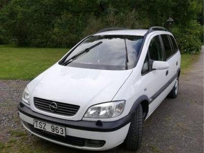 begagnad Opel Zafira 5D 1.6 Comfort Miljöbränsle