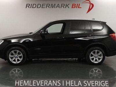 begagnad BMW X3 xDrive20d Nyservad Eu6 Pdc 190hk