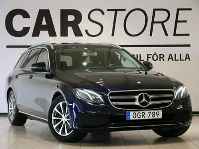 begagnad Mercedes E220 E Benz9G-Tronic Drag Navi 2017, Kombi Pris 279 900 kr