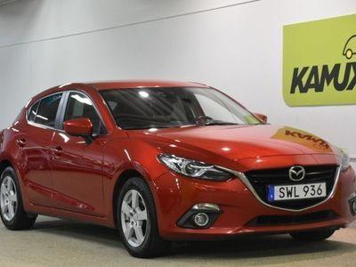 gebraucht Mazda 3 2.0 Optimum Head-up Bose (165hk)