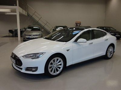 begagnad Tesla Model S 70 Panorama/Svensksåld -16