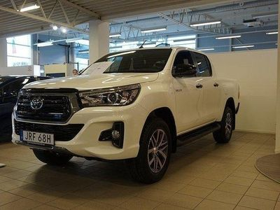 begagnad Toyota HiLux 2,4 d turbo ad blue ultimate, s