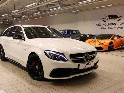 begagnad Mercedes C63S AMG AMG510HK MCT 4800MIL AM