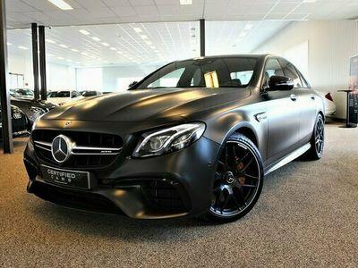 begagnad Mercedes S63 AMG E Benz AMG E4MATIC Edition 1 Euro 6 2017, Sedan Pris 829 900 kr
