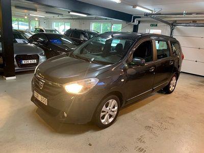 begagnad Dacia Lodgy 1.2 TCe 7-sits 115hk Navi/Nyservad
