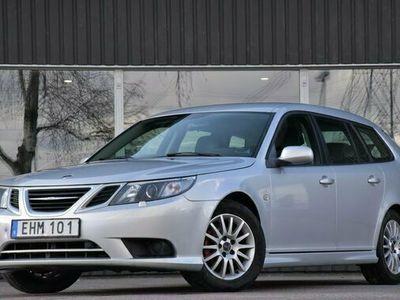 begagnad Saab 9-3 2.0t BP SC 6-Växlad Halvskinn Kamkedja 2011, Kombi Pris 49 700 kr