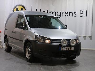 begagnad VW Caddy Skåp 2.0 TDI 4-M (110hk) Värmare