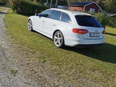 begagnad Audi A4 Avantquattro s-line