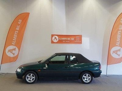 begagnad Ford Escort Cabriolet 1.6 NYBES 90hk