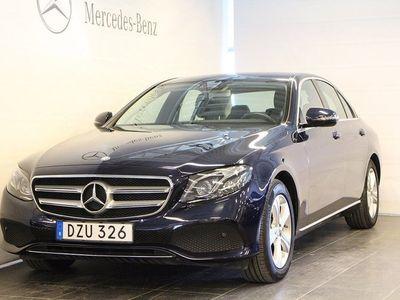 begagnad Mercedes E220 4MATIC Sedan, D-Värmare, Navi, Drag