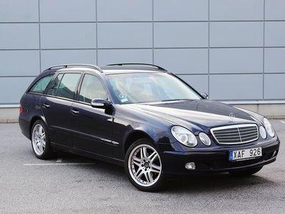 brugt Mercedes 240 E-KlassT 177hk Nyservad Nybesiktigad Automat