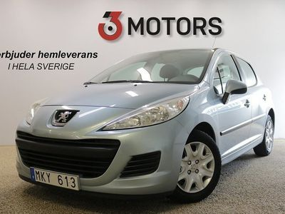 begagnad Peugeot 207 5-dörrar 1.4 Nykamrem 2010, Halvkombi 47 900 kr