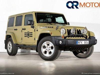 begagnad Jeep Wrangler Unlimited Sahara 3.6 V6 4WD Aut -13