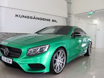"begagnad Mercedes S500 COUPE AMG MAGIC SKY 22""! 489HK"