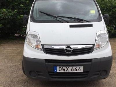 begagnad Opel Vivaro skåp 2,0 -10