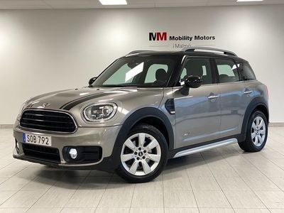 begagnad Mini Cooper S Countryman UV ALL4 Automat Salt II Euro 6 136hk bensin automat Grå metallic