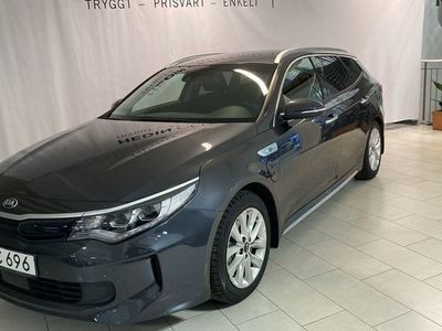 begagnad Kia Optima PLUG-IN-HYBRID SW 205HK AUTO PLUS1 S+V-HJUL