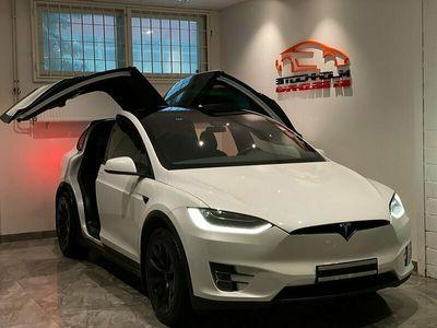 begagnad Tesla Model X 90D 423hk 6SITS VÄLVÅRDAD