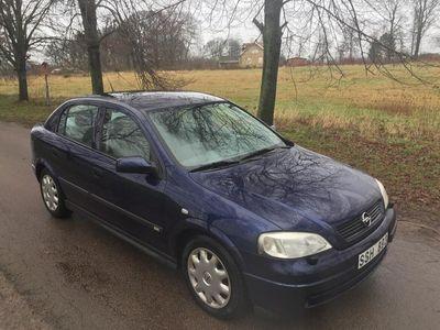begagnad Opel Astra 1.6 Svensksåld, rostfri, Bra skick