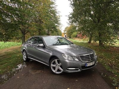 begagnad Mercedes E350 Sv-såld, GPS. Årsskatt 3762