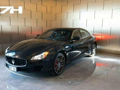 begagnad Maserati Quattroporte SQ4 410hk / Svensksåld / OBS SPEC /