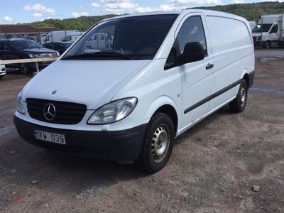gebraucht Mercedes Vito c Skåp W639 (204hk)
