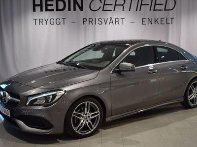 begagnad Mercedes CLA180 // AMG // Apple carplay // Adaptiv Strålkastare